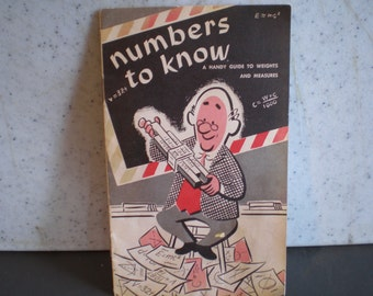 Vintage Mid Century Guide - Numbers To Know - A Handy Guide To Weights, And Measurements