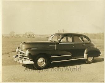 Pontiac Silver Streak car automobile vintage photo