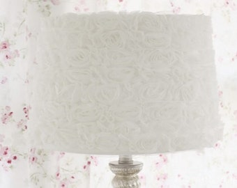 Vintage Rosette Lamp Shade !Free Shipping!
