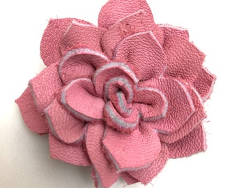 Dog Collar Flower - Leather Dog Collar Flower - Dog Collar Accessory Clip On for Girls