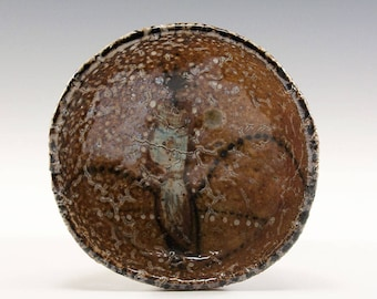 Hand Pinched Small Wood Fired Bowl by Jenny Mendes - King Bird