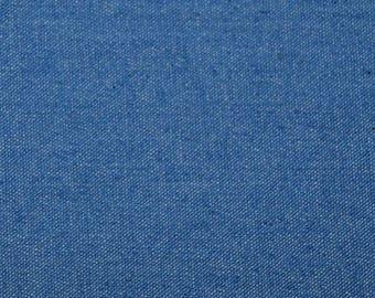 SALE*** Stretch Denim Denim Fabric by the yard - Blue