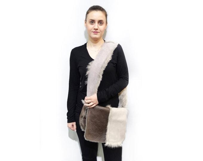 Real Fur Handbag,Mouton shoulder bag F455