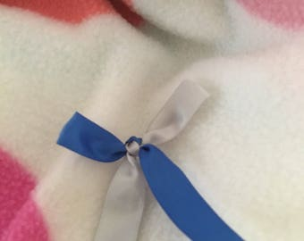 Blue & Silver Awareness Ribbon