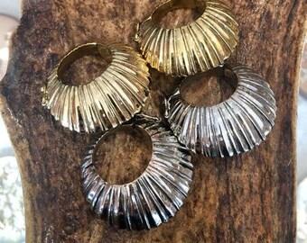 Karen Brass Ear Weights, Tribal ear stretchers, Gauge earrings, Brass ear weights, Brass stretchers, Expander, Tribal Gauges, TRIBU