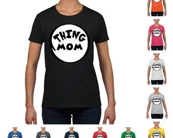 Thing Mom Women's Round Neck T-Shirt