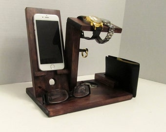 Wood Phone Stand, Wood Phone Dock, Wooden Phone Dock, Phone Stand, Wooden Phone Stand