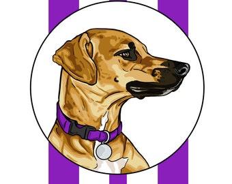 Custom Canine Portrait