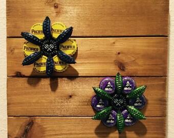 Beercap Flowers