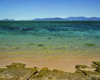 Photograph, Color, Australian Beach, Great Barrier Reef