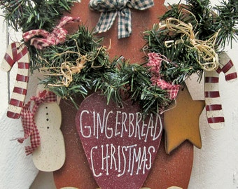 Gingerbread Christmas Yard Sign Gingerbread Decor Outdoor Christmas Decoration Christmas Wood Gingerbread Wood Candy Canes Snowman