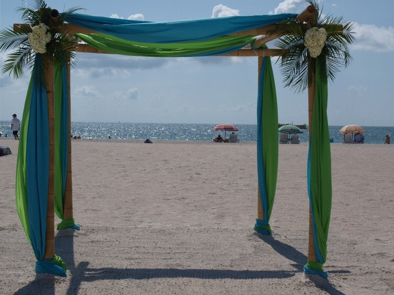 Wedding Arch/Wedding Chupph And Fabric Draping Kit Beach