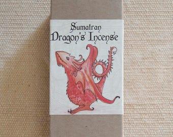 Sumatran Dragon's Incense (all natural resin incense)