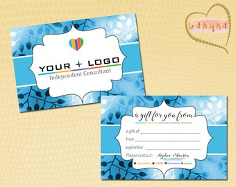 Gift Cards, Fast Free Personalization and Change, Digital Business Cards, Rodan Business Card, Marketing Business card
