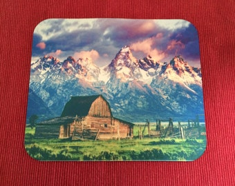 Country Landscape  Mouse Pad