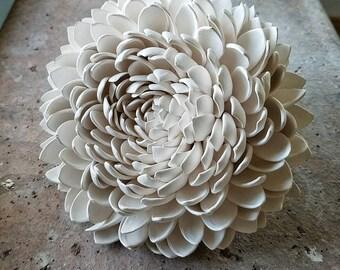 Fallen Porcelain Chrysanthemum