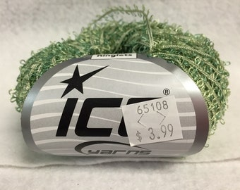 Ice Yarn Twin Ringlets Greens 50gr