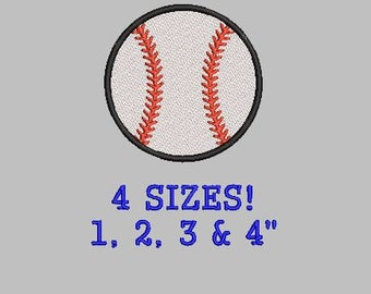 Buy 1 Get 1 Free!  Baseball Embroidery Design Mini Baseball Small Baseball Softball Embroidery Design Mini Softball Small Softball Digital