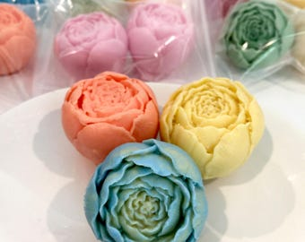 Peonies Guest Soaps