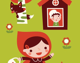 Poster - Little red riding hood