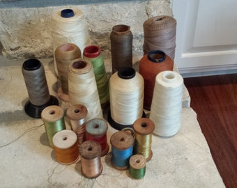 Lot of vintage thread