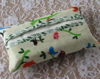 Pocket tissue holder, pocket tissue cover