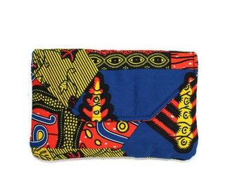 African Print Clutch, African Print Purse, Women's Clutch, Gifts for Women, Ankara Purse for Women, African Clothing, African Print Bag