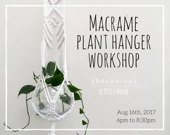 Wed, Aug 16th Macrame Class: Create a Plant Hanger in Aberdeen, Scotland 600pm to 830pm
