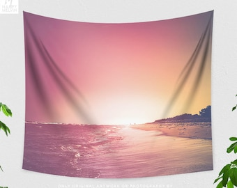 Magical Summer Tapestry, Beach Wall Tapestry, Sea Tapestry, Summer Wall Tapestry, Nature Wall Art, Bohemian Wall Decor, Unique Gift, Indie