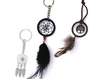 Boho / Boho Keychains / Dreamcatcher / Hippie / Accessories