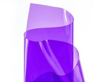 Purple transparent vinyl
