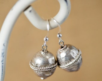 Sterling Silver Ethiopian Earrings