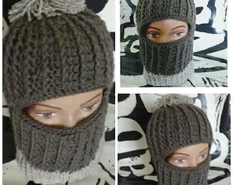 Ski Mask, Ski Hat, Womens winter hat