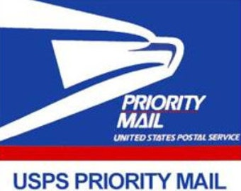 Upgrade Priority Mail. Only Shipping service.