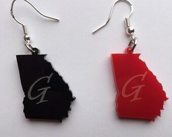 State of Georgia Earrings