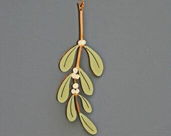 Mistletoe hanging decoration