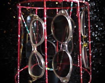 Lamp shade sunglasses