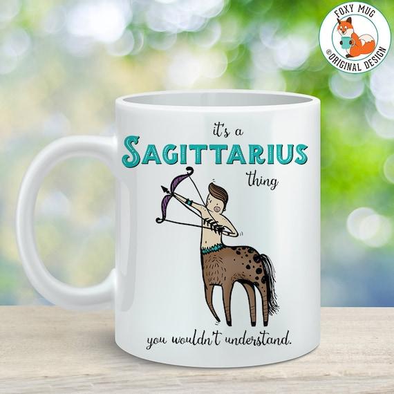 Coffee Mug Sagittarius Astrological Sign Coffee Cup - Great Birthday Gift - Horoscope Mug