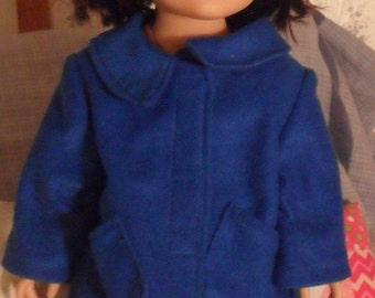 Blue 18 in Doll Coat