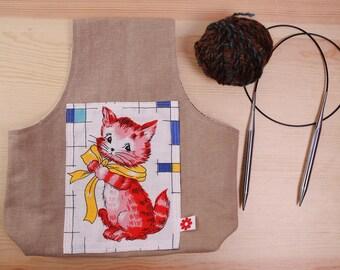 Bag PortaOvillos Knitting Bag, Crochet Bag, bag work, bag holder balls