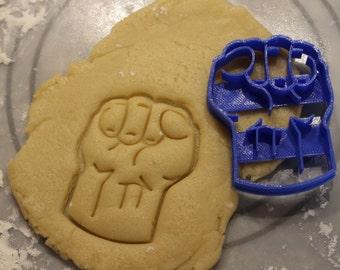 Cookie Cutters: Hulk Fist Cookie Cutter,Superhero Cookie Cutter,Batman,Robin,Boy Wonder,Party Supply, Birthday,Children Party,Child Party