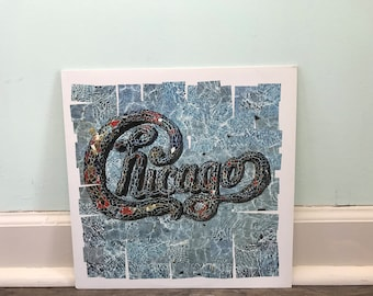 "Chicago ""18"" vinyl record"