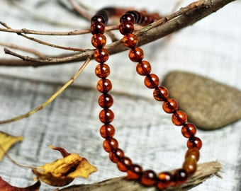 "16"" Natural Honey Amber Necklace"