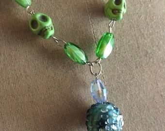 Skull Mermaid Necklace