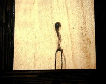 Wood Art / Natural Wood Art / Minimalist Decor / Up-cycled Wood / Reclaimed Wood / OOAK Artwork