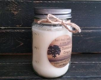 Coconut Craze Scented Candle 16 oz.