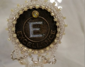 Excellence Bead Embroidery Necklace - 01E45