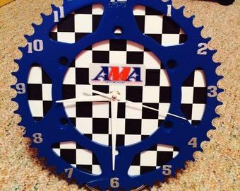 Dirt bike sprocket clocks