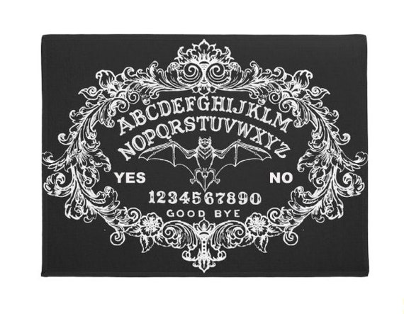 Baroque Ouija Board door mat