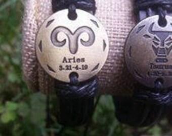 Bracelet Taurus Zodiac Signs